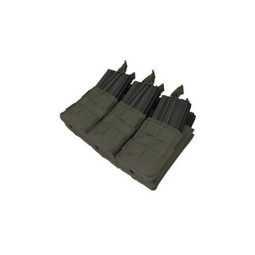 Condor Triple Stacker Mag Pouch Black (Magazine Rifle Pouch)