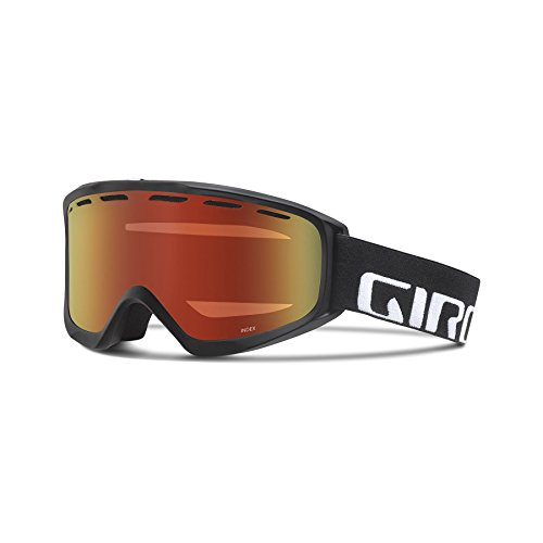 Strong Index (Giro Index OTG Snow Goggles - Men's Black Wordmark Frame with Amber Scarlett Lens)
