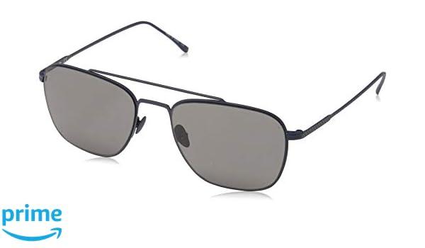 70029ebe62c Amazon.com  Lacoste Men s L201s Square Sunglasses BLUE 54 mm  Clothing