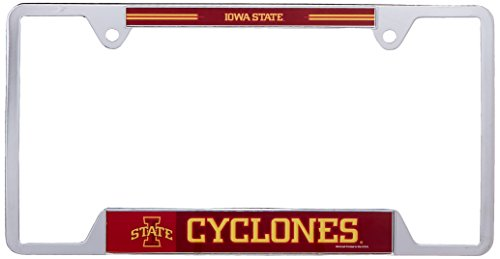WinCraft NCAA Iowa State University Metal License Plate Frame