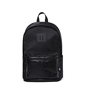 SEMIR Large 13 - 15.6 Inch Slim Computer Best Business Travel College Backpacks School Canvas Laptop Bookbag With Laptop Compartment Water Bottle Bookbags Backpack for Women Men Notebook