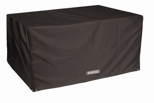 Bosmere D555 STORM BLACK 6 Seat Rectangular Table Cover