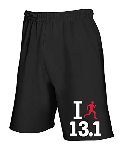 shirtshock Dec0214 T Mezza Tuta Nero Maratona Pantaloncini dOOq80