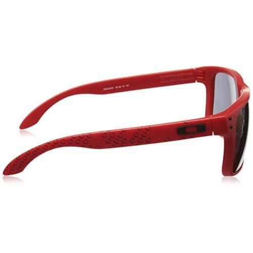b798efb800 Oakley Sonnenbrille Holbrook, Gafas de Sol Polarizadas Unisex, Rojo (Matte  Red/Fire