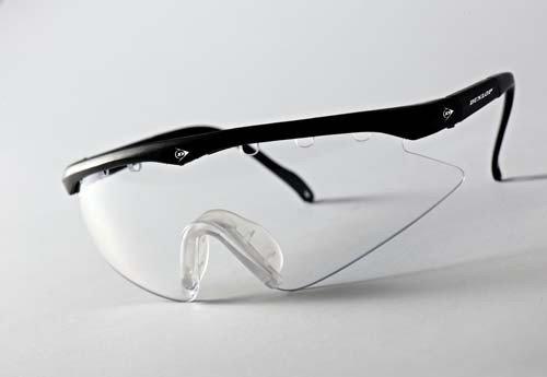 Dunlop Junior Lunettes de Squash Design anatomique Cadre réglable pour lunettes de Protection