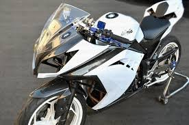 Open Throttle Racers Abs Plastic Full Ferring Kit For Kawasaki Ninja