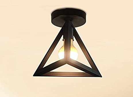 Industrial wind concise pendant lamp ceiling lights geometric shape industrial wind concise pendant lamp ceiling lights geometric shape iron classic pendant lights retro restaurant bar aloadofball Images
