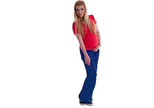 12babyline - Pantalón de deporte - para mujer azul marino