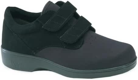 Aetrex Women's Ambulator Stretcher Double Strap Velcro Shoes