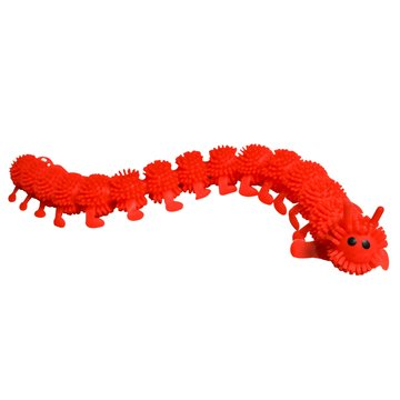Squishy Sensory Caterpillar Motor Aide Fidgets - Ideal for Kids with Autism or Special Needs - Calms Kids and Increases Concentration