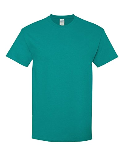 Gildan Heavy Cotton T-Shirt, Tropical Blue, Large