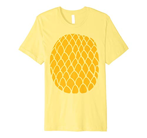 Pineapple Shirt Funny Food Fruit Halloween Group Costume
