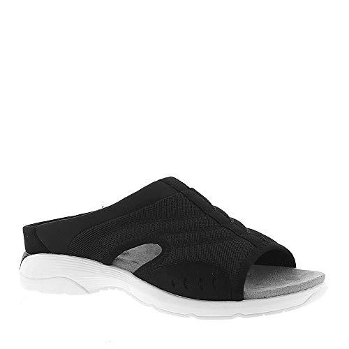 Easy Spirit Women's Traciee 2 Slide Sandals (Black, 8.5 W US)