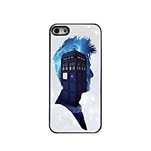 Police Box Pattern Aluminum Hard Case for iPhone 5/5S