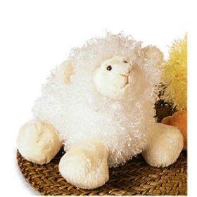 Mary Meyer Plush LambyBelly PufferBellies Fluffy and White Lamb -