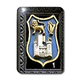 3dRose LLC lsp_81981_1 Ireland Dublin Trinity College Coat of Arms Eu15 Cmi0234 Cindy Miller Hopkins Single Toggle Switch