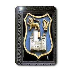 - 3dRose LLC lsp_81981_1 Ireland Dublin Trinity College Coat of Arms Eu15 Cmi0234 Cindy Miller Hopkins Single Toggle Switch