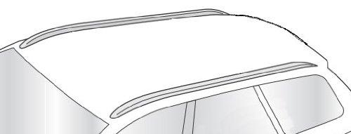 Barres de TOIT Railing pour DACIA Lodgy A partir de 2012