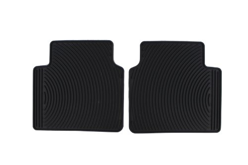 Genuine Hyundai Accessories U8130-3K200 Black All Weather Floor Mat for Hyundai Sonata