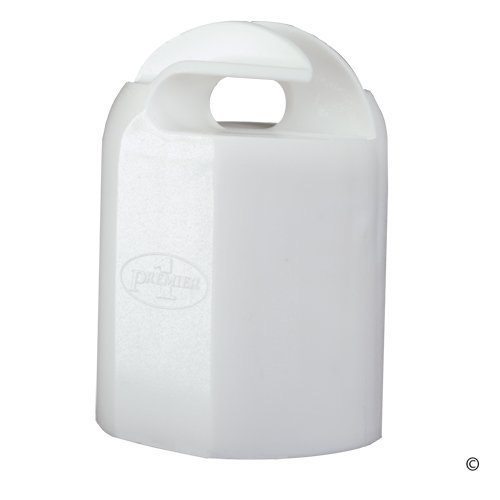 Premier Hot Top White Insulator for Steel T Posts 10/pack