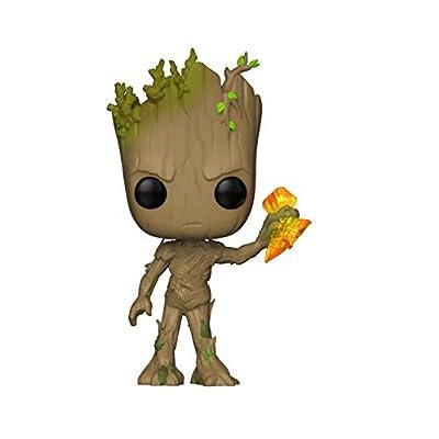 Funko POP! Marvel: Avengers Infinity War - Groot with Stormbreaker -: Toys & Games