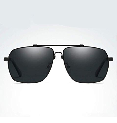 Driver Grey Driving Sol Black Liwenjun Gafas Hombre De Caja Polarizadas Frame Sunglasses HqHYWPn8g