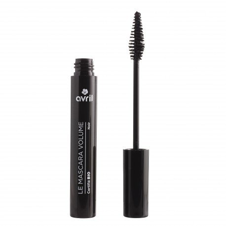 AVRIL - Volumizing Mascara Carbon Black - Long-Lasting and Easy Application - Organic, Not Tested on Animals - 7 gr ()