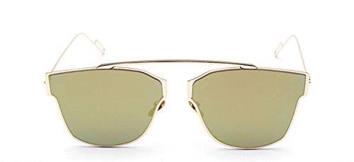 GAMT Women and Men Designer Mirroer Lens Sunglasses - Sunglasses Wayfarer 47mm Small