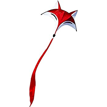 Hengda Kite NEW Ainimal RED Fox Kite Outdoor Fun Sports