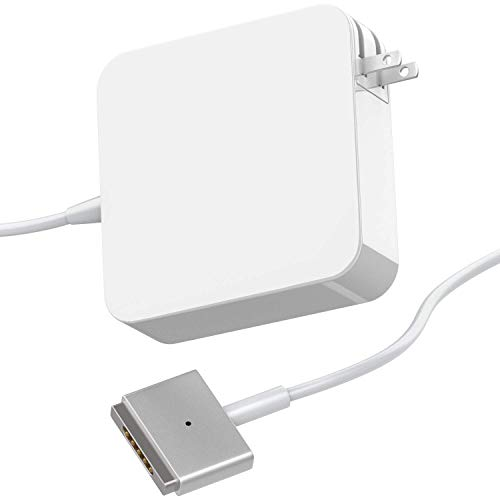 Mac Book Air Charger, 45W Magsafe 2 T-Tip Power Adapter Charger Replacement for Mac Book Air 11 inch and 13 inch - 45T A16260