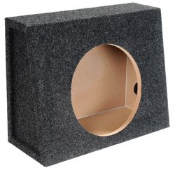 (12 Single Bass Box Sealed Empty Truck Enclosure-2Pack )