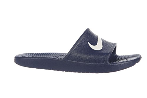 Beach Midnight 400 White Men s NIKE Kawa Navy and Blue Shoes Pool Shower pq71I