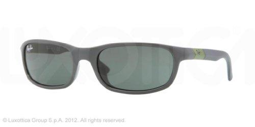 Ray-Ban Jr. Kids Sunglasses Grey/Grey Plastic - Non-Polarized - - Ray Ban J
