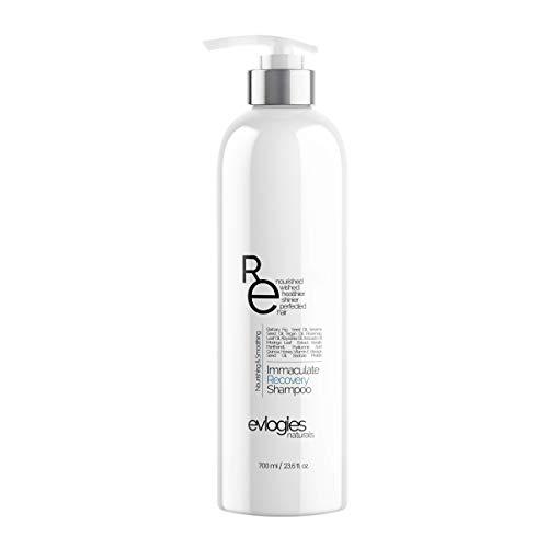 Hair Growth & Damage Repair Shampoo - Anti Hair Loss & Breakage Complex ꞁ Sulfate Free, Color Treated Hair ꞁ Keratin, Argan Oil, Aloe Vera, Abyssinia Oil, Avocado Oil, Rosemary Oil, Vitamin E - 23
