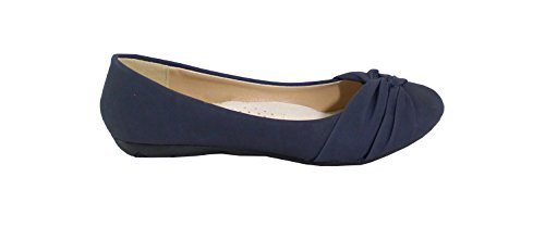 By Shoes Ballerine Shoes By Donna Blue Ballerine Donna UPEqw4g1A