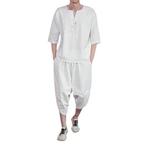 Speedo Swimming Costumes India - Men's Plus Size Summer Beach Cotton