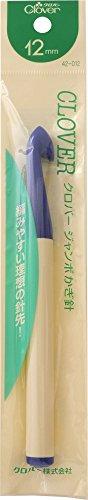 [해외]클로버 점보 크로 셰 뜨개질 12mm (일본 수입) / Clover Jumbo Crochet 12mm (japan import)