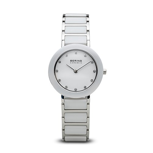 BERING Time 11429-754 Womens Ceramic Collection Watch with Stainless steel Band and scratch resistant sapphire crystal. Designed in - Discount Watchshop