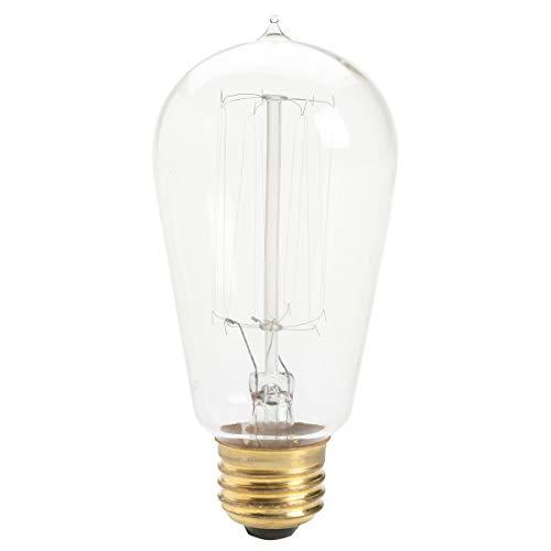 Kichler 4071CLR-SINGLE Vintage Filament 60W Light Bulb, N/A - Kichler Single