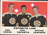 1970 O-Pee-Chee Regular (Hockey) card#233 Espos/Cashman/Hodge of the - Undefined - Grade Excellent to Excellent Mint