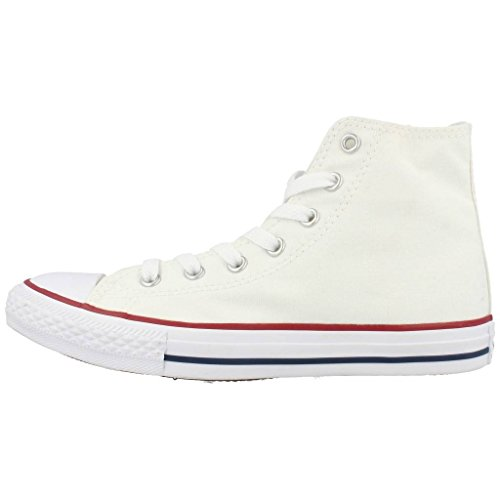 Color Blanco Zapatillas De Tela Converse Para Niños Waw8Axqa7X