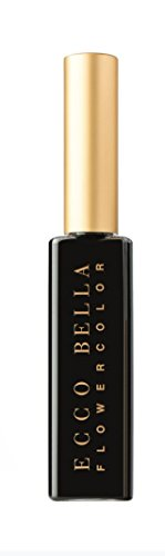 Ecco Bella All Natural Black Mascara Perfect for Sensitive Eyes Volumizes and Lengthens Eyelashes