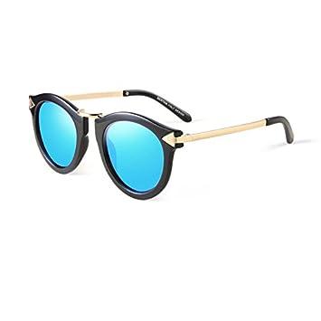 Sonnenbrille Eis Blue Ladies Driving Anti Glare Anti-UV polarisierte Licht Sonnenbrille UV400 ( farbe : Black Frame ) c6FAtz