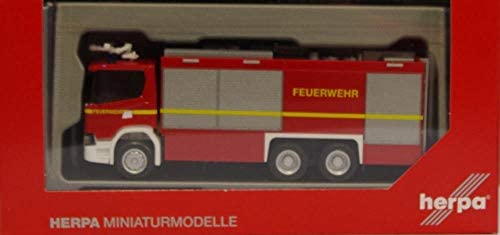 Herpa 094375 scania CG 17 bomberos EMPL Ulf nuevo//en el embalaje original
