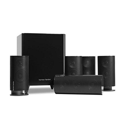 harman kardon hkts20bq 5 1 home theater speaker system black. Black Bedroom Furniture Sets. Home Design Ideas
