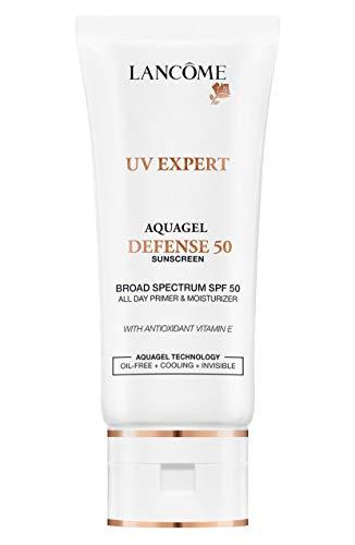 UV Expert Aquagel Defense 50 Broad Spectrum SPF 50 All Day Primer & Moisturizer with Antioxidant Vitamin E • 1 oz. / 30…