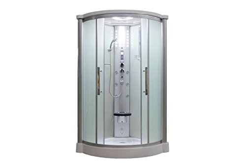 Sliding Door Steam Shower Enclosure Unit Glass Color