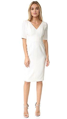Buy black halo black and white dress - 8