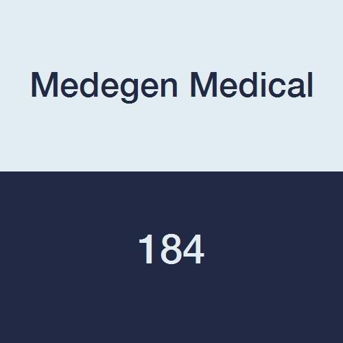 Medegen Medical 184 Graham Medical Tissue/Polyback Towel, 13-1/2'' x 18'', 2-Ply, Blue (Pack of 500)