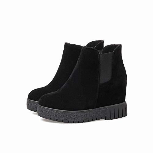 Aumentar Plano Simples Tubo Zapatos Botas Calientes Martin En fondo Negro 36 44 Mujer De Medio E Invierno Moda Otoño Xdx Del El x7TA0nqzdA